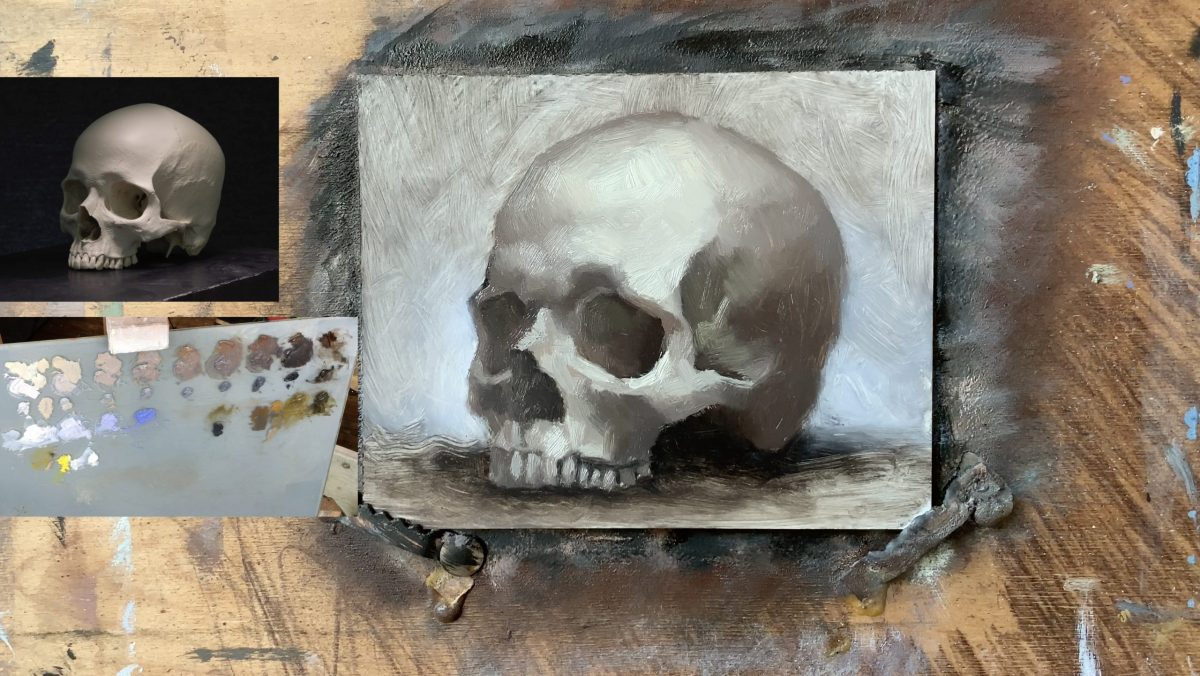 Painting a Skull